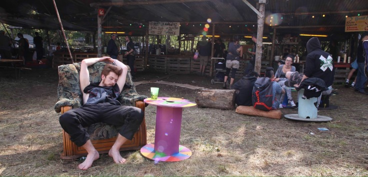 sleeping @homway festival